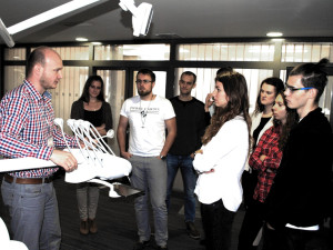 Educational visit of the students of stomatology in Diplomat Dental